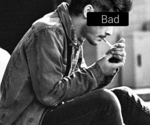 zayn malik, one direction, and smoke image