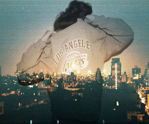 city, los angeles, and photography image