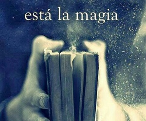 book, libro, and magia image