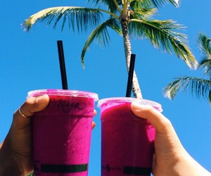 drink, summer, and smoothie image