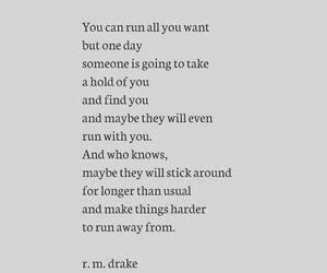 life, running away, and sadness image