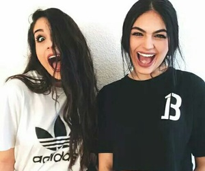 adidas, friendship, and bffs image