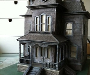 black, haunted, and house image