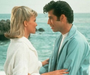 grease, love, and beach image