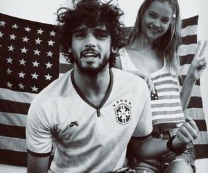 Marlon Teixeira, couple, and barbara palvin image