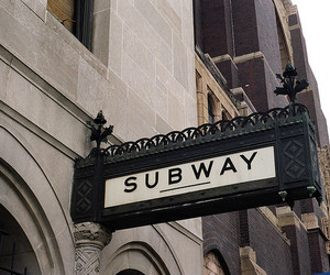 subway, photography, and vintage image