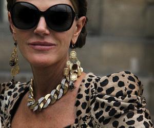 anna dello russo, earrings, and fashion image