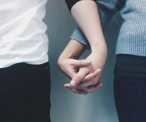 hands, romantic, and Relationship image