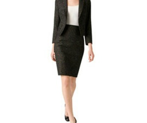 blazer, blouse, and business image