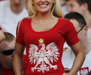 blonde, pretty, and supporter image