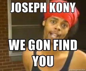kony, text, and war image