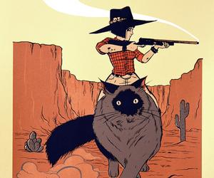 bad girl, cowboy, and Cowgirl image
