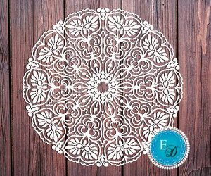 craft, doily, and etsy image