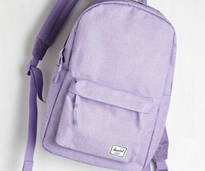 backpack, themes, and lavender image