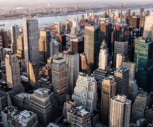 city, architecture, and landscape image