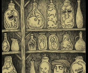 art, ghost, and monster image