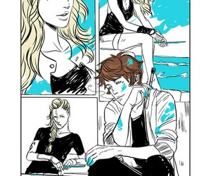 julian blackthorn, shadowhunters, and emma carstairs image