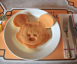food, pancakes, and disney image