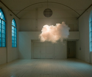 cloud, light, and room image
