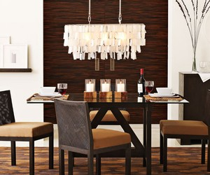 chandeliers, dining rooms, and dining room ideas image