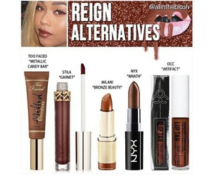 kylie jenner, dupes, and makeup dupe image