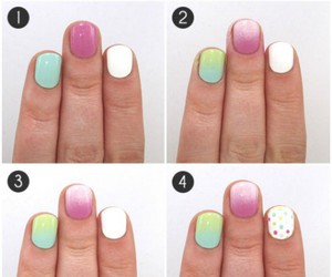 latest nail art and best nail art tutorial image