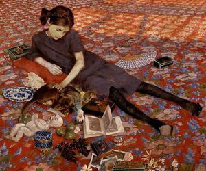 girl, art, and felice casorati image