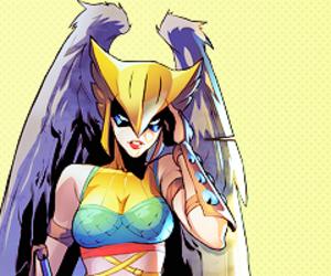 dc comics, shayera hol, and hawkgirl image