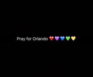 orlando, pray, and lgbt image