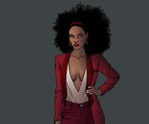 Marvel, misty knight, and mercedes knight image