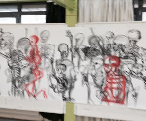 danse, death, and draw image