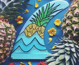 summer and pineapple image