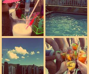 brazil, drinks, and pool party image