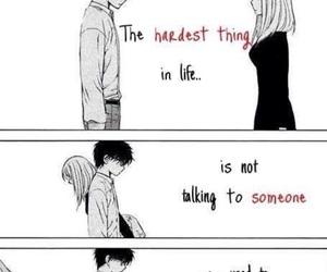 sad, anime, and quote image