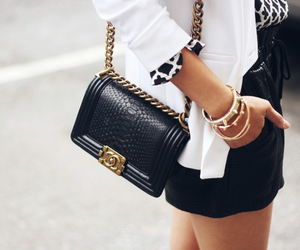chanel, fashion, and boy bag image