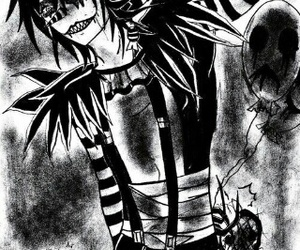 dark, creepypasta, and laughing jack image