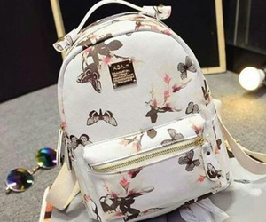 backpack, butterfly, and chic image