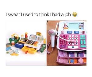 funny and job image