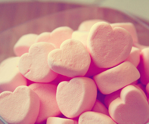pink, heart, and sweet image