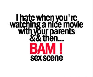 hate, text, and sex scene image