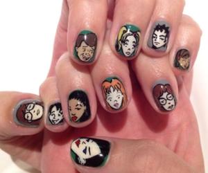 nails, Daria, and nail art image