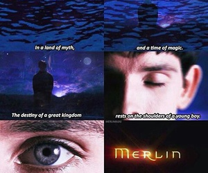 colin morgan, merlin, and merlino image