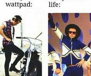Harry Styles, wattpad, and one direction image