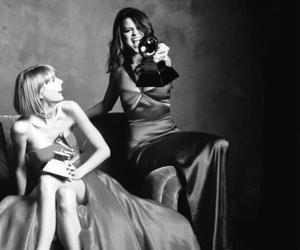 Taylor Swift, selena gomez, and grammys image
