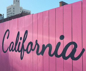 california, pink, and phrases image