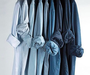 blue, shirt, and style image