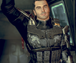 mass effect and kaidan alenko image