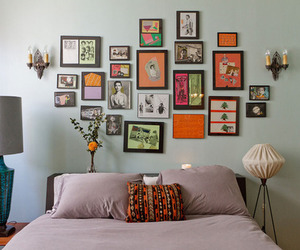 art, home, and bedrooms image