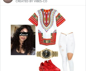 African, dashiki, and clothes image