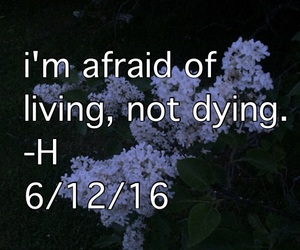 afraid, death, and dying image